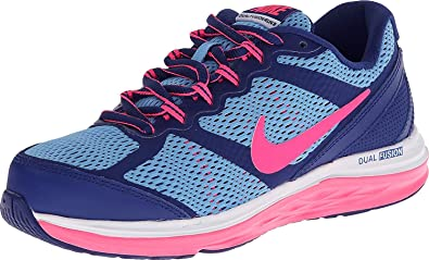 6457fb33be0 NIKE Dual Fusion Run 3 Girls Running Shoes (Big Kid)  Amazon.co.uk ...