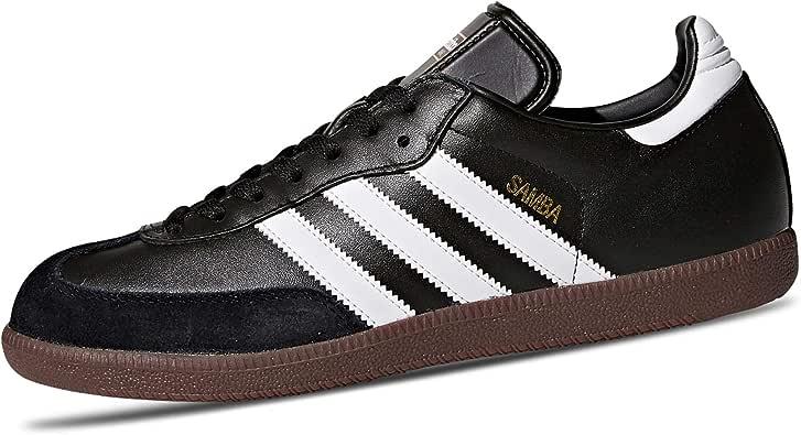adidas Originals Adidas Samba Classic, Schwarz-weiß, Zapatillas de Fútbol para Hombre, Negro Black Running White, 46 EU: Amazon.es: Zapatos y complementos