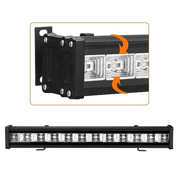 Amazon.com: Luz negra de 24 W y 12 ledes, luz ultravioleta ...