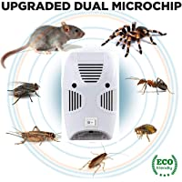 ADTALA Ultrasonic Pest Repeller Repellent, Home Pest Control Reject Device Non-Toxic Spider Lizard Mice Repellent Indoor for Mosquito, Ant, Flea, Rats, Roaches, Cockroaches, Fruit Fly, Rodent, Insect