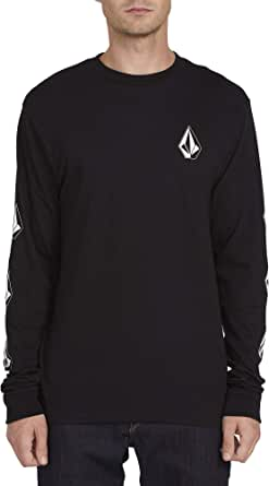 Volcom Men's Deadly Stones Long Sleeve Basic FIT TEE Shirt