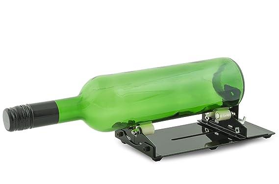 Gadgy ® Maquina Cortador de Botellas de Vidrio | Glass Cristal Bottle Cutter | Hacer Corta Objetos Decoracion Cristaleria Portavelas Candelabros Vaso ...