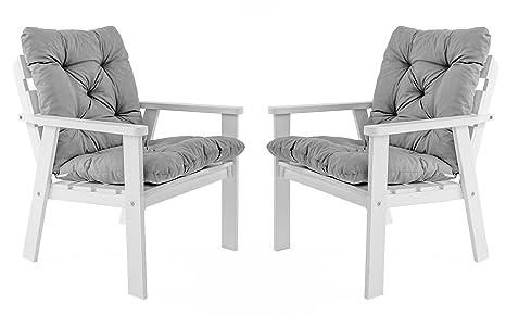 Ambientehome Java Exclusiv Hanko - Juego de 2 sillas de ...