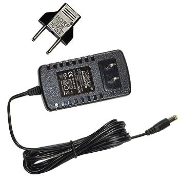 HQRP Adaptador de CA para Casio CTK-496F7, CTK-5000, CTK-
