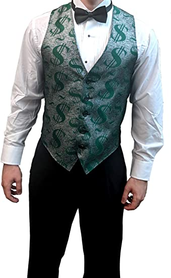 2XL Men/'s Green Authentic Tuxedo Costume Size Small USED