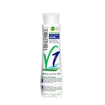 Vidalforce Champu V1 Anti-Caida Natural Certificado Primeros Sintomas Volumen Instantaneo - 250 ml.