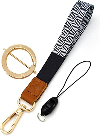 Golden Badge Holder GOLDEN Fabric lanyard Black and Gold Badge Holder Fabric lanyard Black Lanyard
