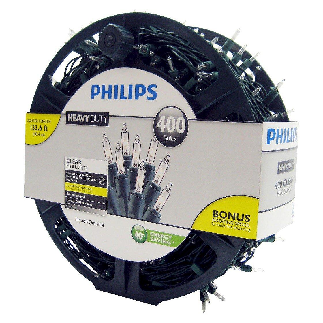 Amazon.com Philips Heavy Duty Clear Mini Lights 400 Bulbs Home u0026 Kitchen  sc 1 st  Amazon.com & Amazon.com: Philips Heavy Duty Clear Mini Lights 400 Bulbs: Home ...