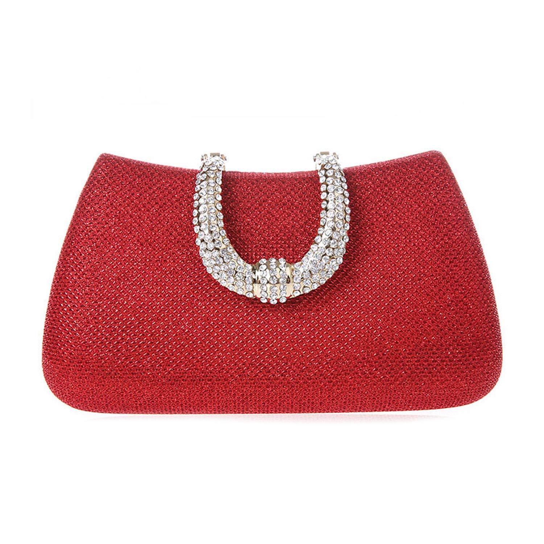 U Shape Clasp Clutch Bags...