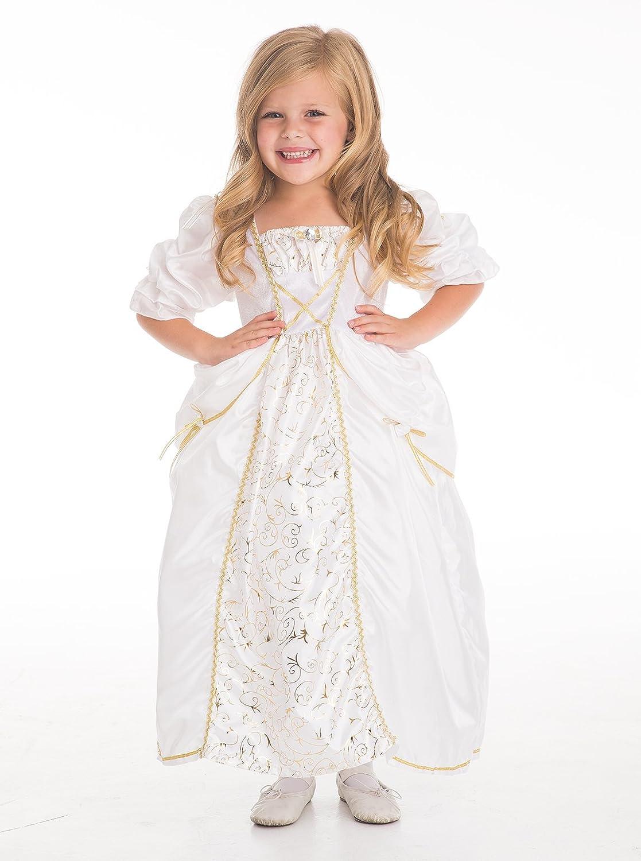 Amazon.com: Little Adventures Bride Wedding Gown Dress Up Costume ...