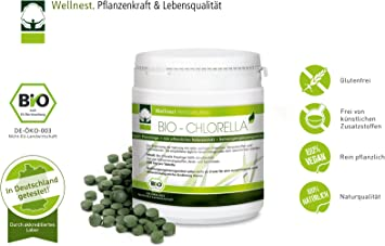 detoxifiere clorella