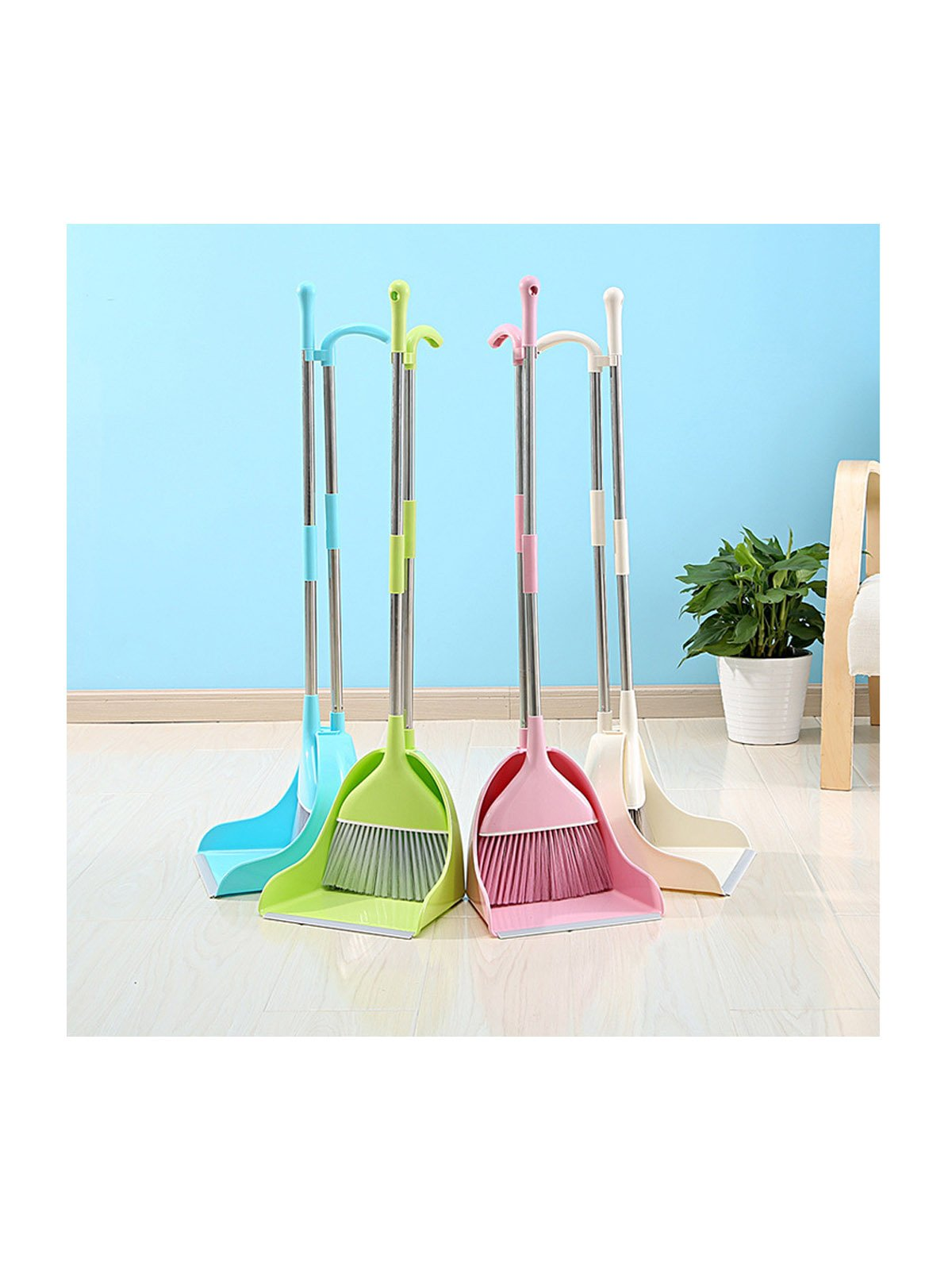WJL Broom and Dust Pan Set by WJL (Image #3)