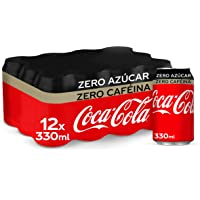 Coca-Cola Zero Azúcar Zero Cafeína Lata - 330