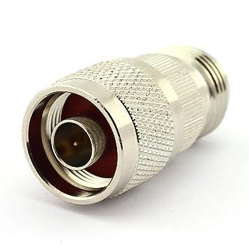 dgzzi 2-Pack N macho a N hembra RF coaxial adaptador N coaxial Jack Conector