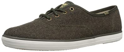 5a380beaa07 Keds Women s Champion Wool Fashion Sneaker Forest Green 6 ...