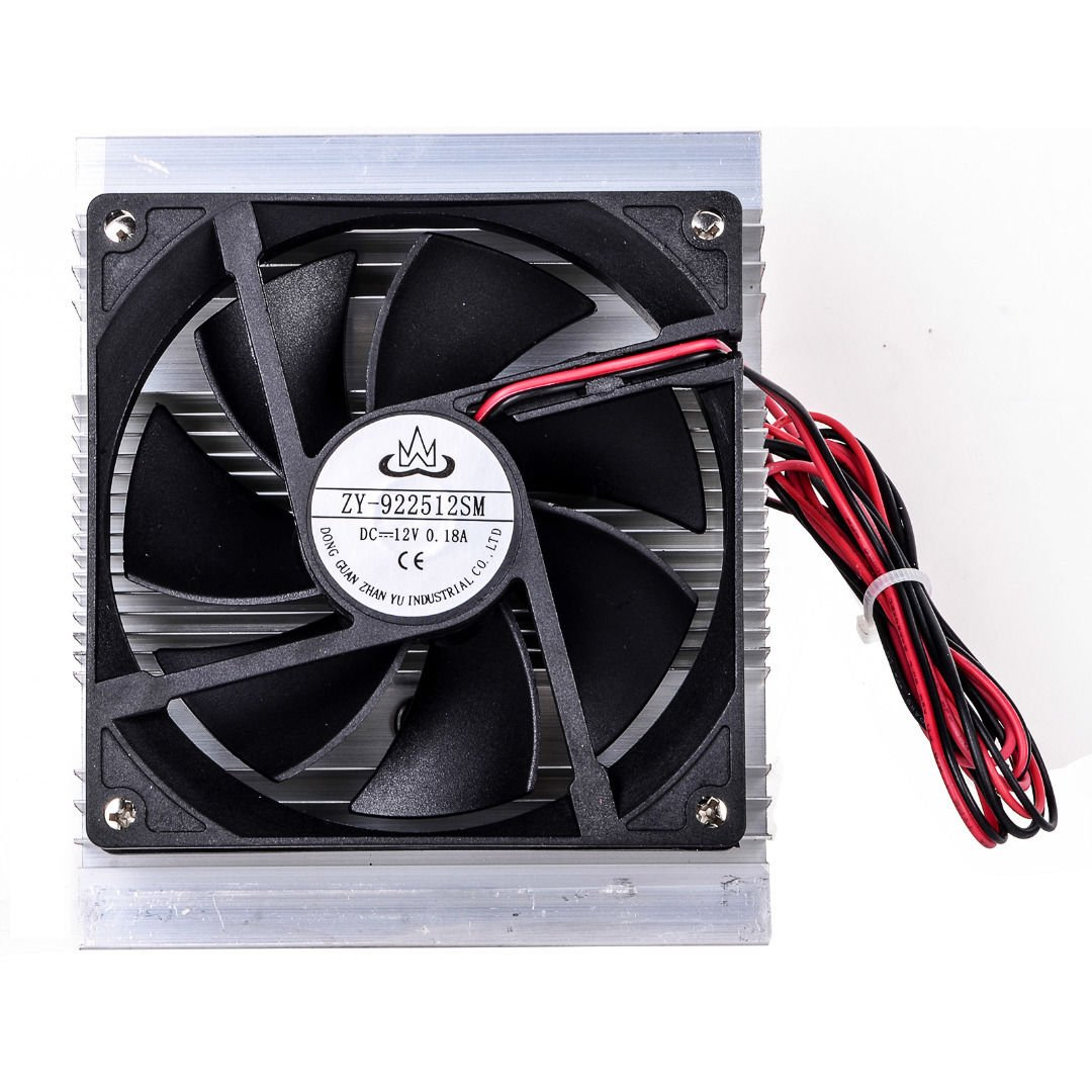 Toogoo TEC-12706 Thermoelectric Peltier Refrigeration Cooling System Kit Cooler Fan DIY by Toogoo (Image #4)