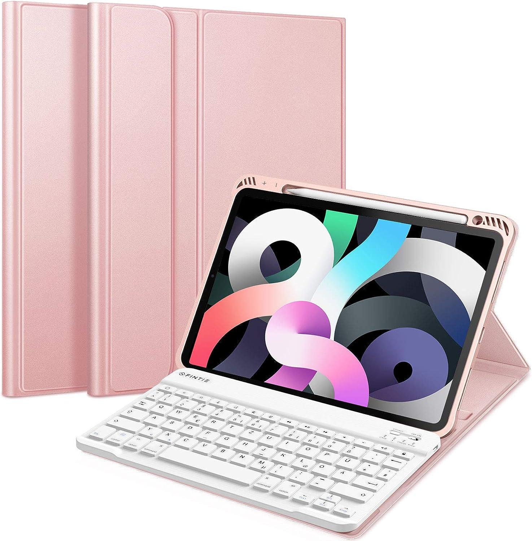 Fintie Tastatur Hülle Für Ipad Air 10 9 2020 Soft Tpu Computer Zubehör