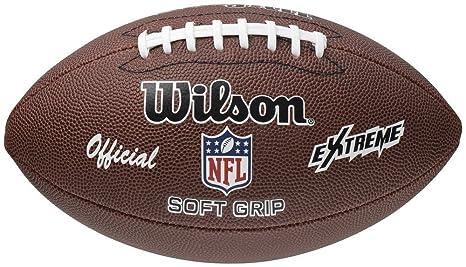 nfl pallone  Wilson, Pallone da football americano, Marrone (braun), Adulto ...