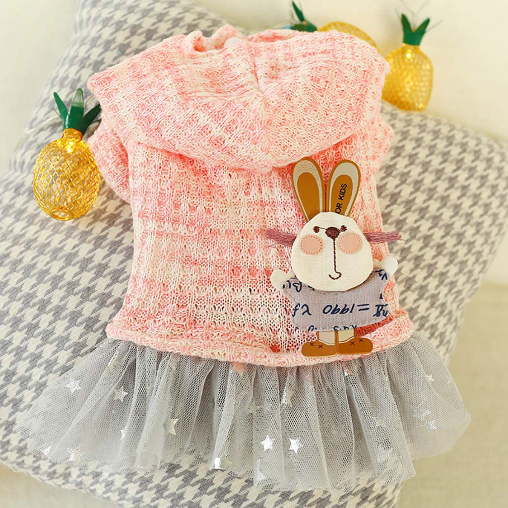 New princess dress pet clothes dog dress dog coat cute print clothing for small dogs Hawkimin dog cat comfortable breathable dog clothing dog clothing