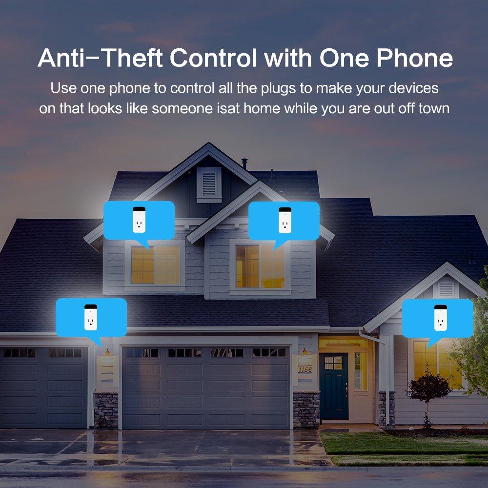 Power Strips Smart Plug Echo Alexa IR Control Air
