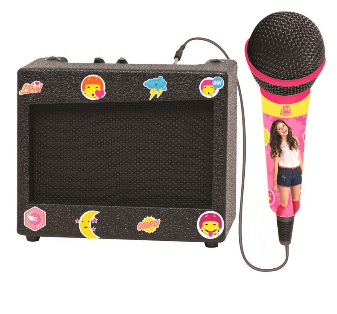 Lexibook K900SL Soy Luna Portable Retro Karaoke Set by LEXIBOOK