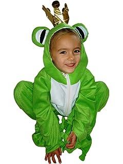 fantasy world frog king halloween costume fancy dress up sizes 9mths 8