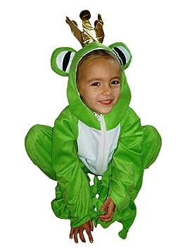 Ikumaal SY12 Tamaño 5-6 años Rana príncipe Traje, Traje de Rana para los niños para Carnaval …