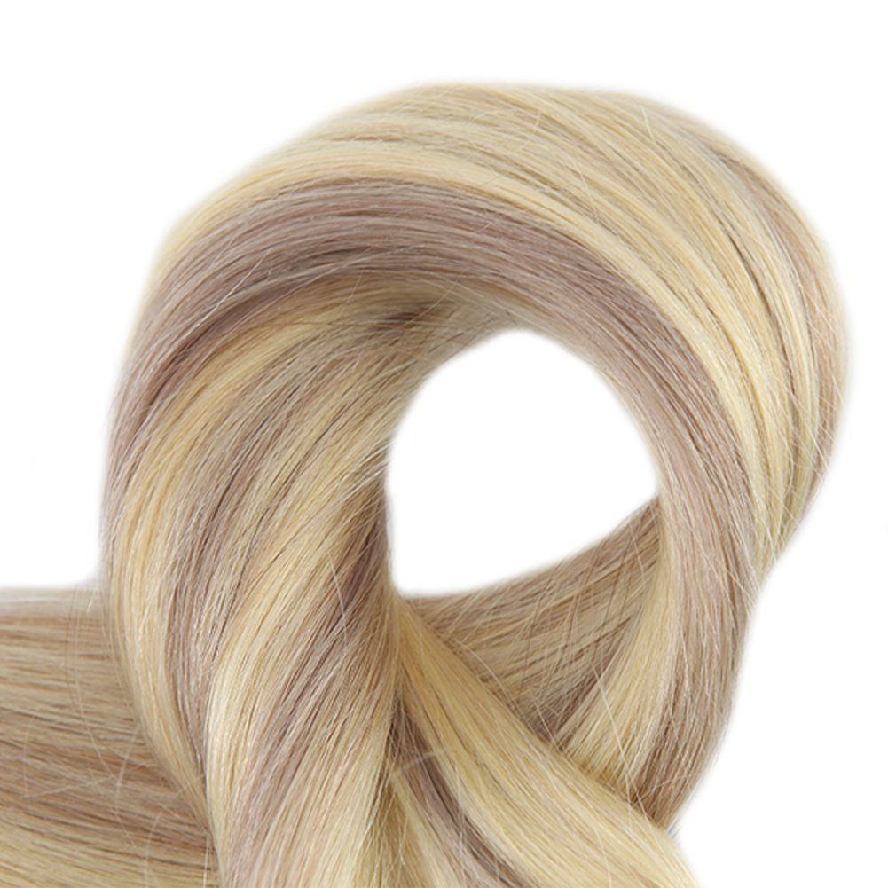 Amazon Full Shine 18 9 Pieces Color 18 And 613 Blonde Thick