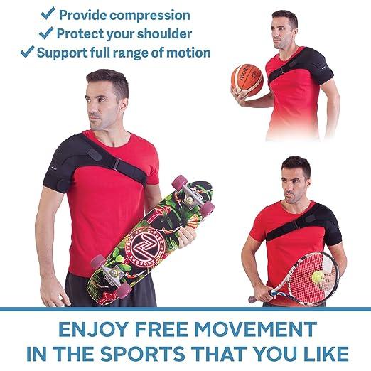 Amazon.com: Zenkeyz - Sujetador de hombro para hombres y ...