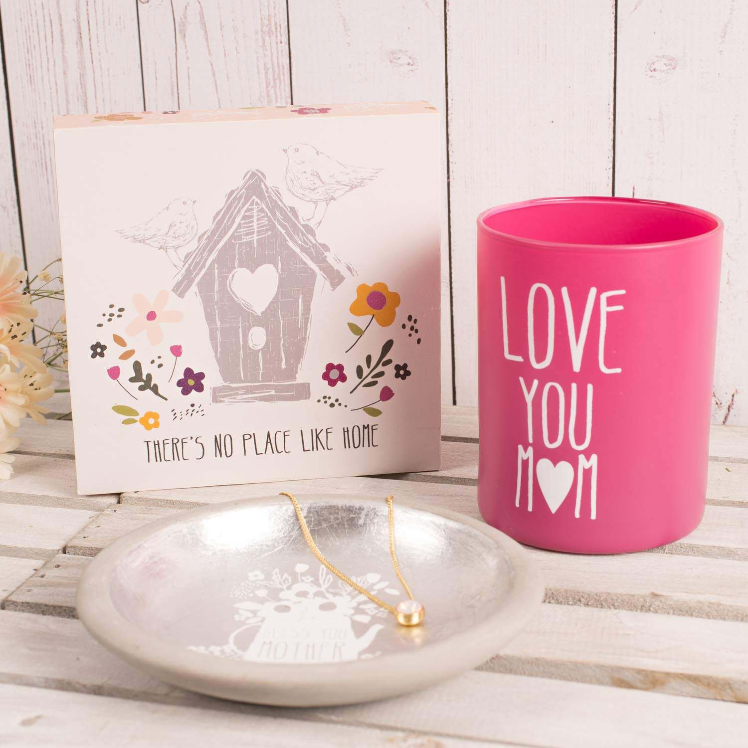 Pavilion Gift Company Theres No Place Like Home Plaque