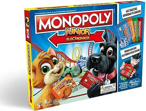 Monopoly- Junior Electronico (Versión Española) (Hasbro E1842105 ...