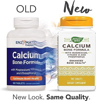 Amazon.com: Enzymatic Therapy con Magnesio, Fósforo de ...