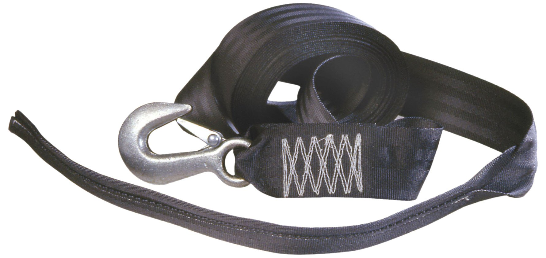 Tie Down 50472 2'' x 20' Winch Strap with Tail