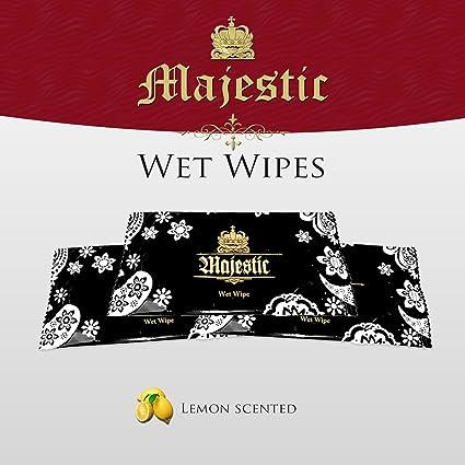 100 x toallitas limpiadoras en húmedo de mano toalla de envasados individualmente por razones aroma a