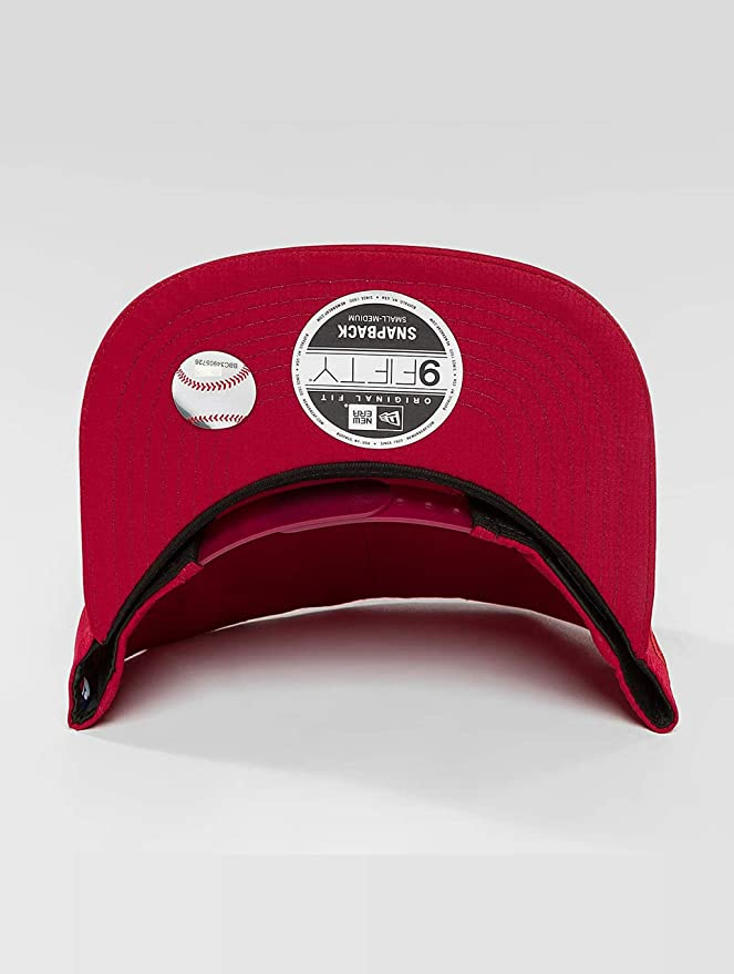 New Era Mujeres Gorras / Gorra Snapback Nano Ripstop Boston Red ...
