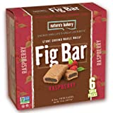 Nature's Bakery Whole Wheat Fig Bar, Raspberry, 6