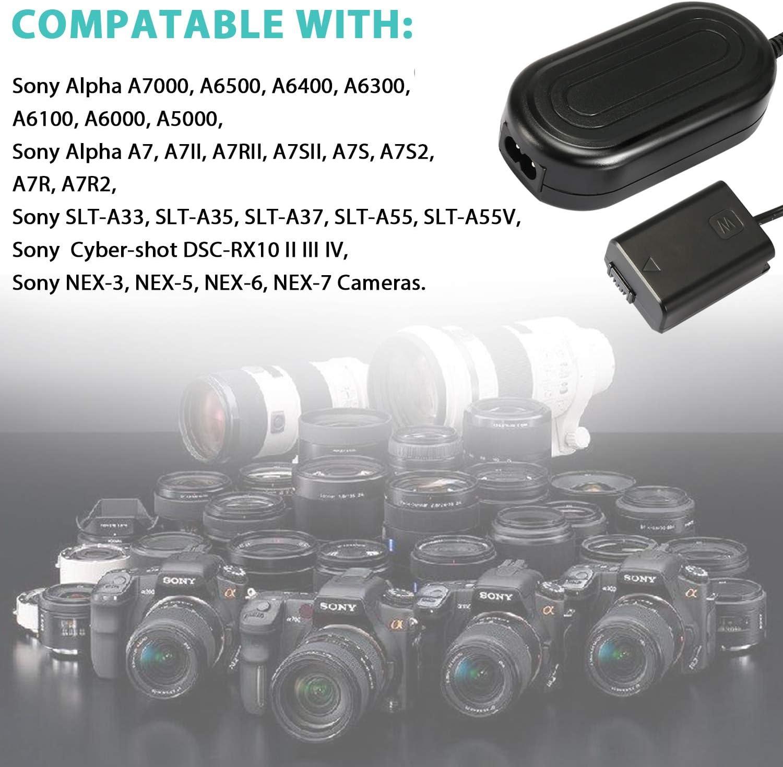 Ami.Todfo Kamera AC Netzteil AC-PW20 fr Sony A7000 A6500 A6400 ...