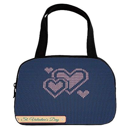 Amazon Polychromatic Optional Small Handbag Pink Valentines