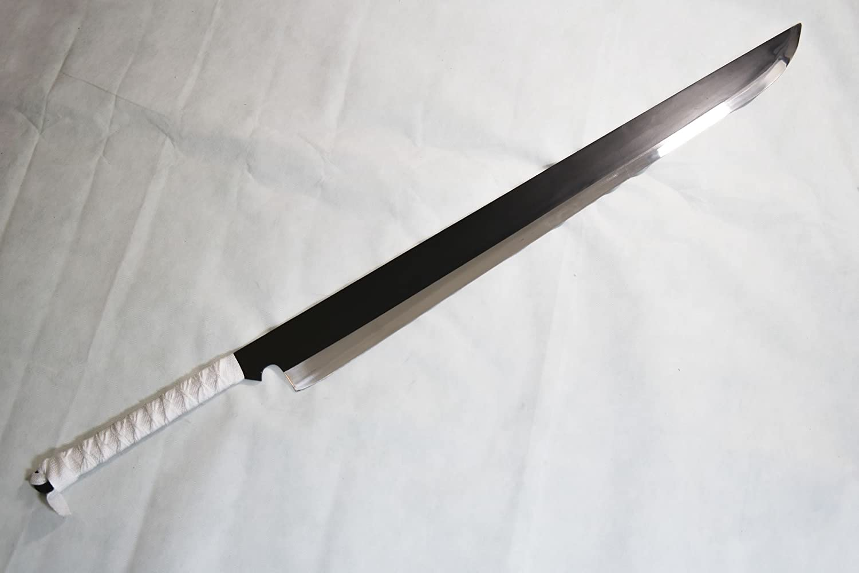 Bleach Cosplay Zangetsu Schwerter von Ichigo Kurosaki aus Holz mit Schwertscheid