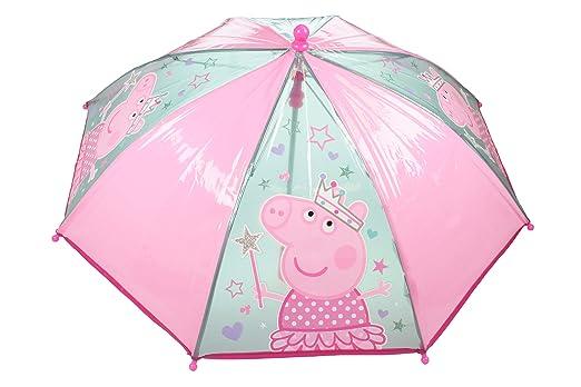 Sombrilla temática navideña de Peppa Pig - Sombrilla con Mango ...