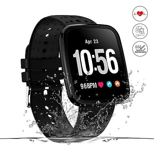 Monitor de actividad,reloj inteligente de fitness,pantalla HD ...