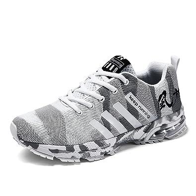sports shoes 7c487 36040 Senbore Chaussures de Sport Basket Running Respirantes Athlétique Sneakers  Courtes Fitness Tennis Homme