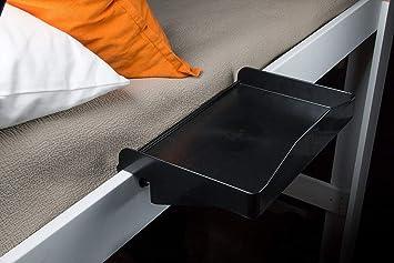 Amazon Com Bunk Buddy Bedside Shelf Black Kitchen Dining