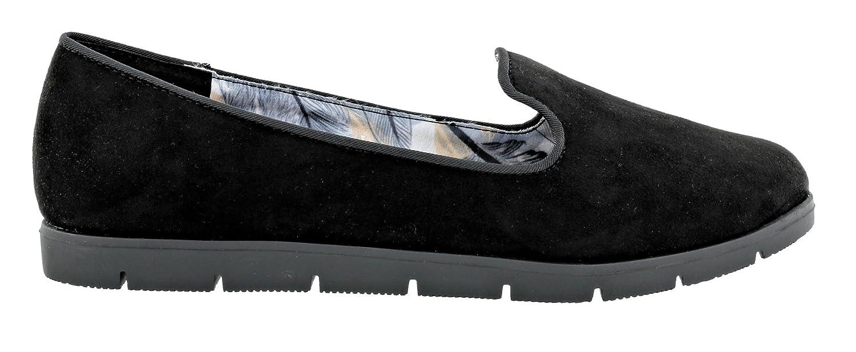 Dolcis - Mocasines de Material Sintético para Mujer Negro Negro, Color Negro, Talla 36.5: Amazon.es: Zapatos y complementos