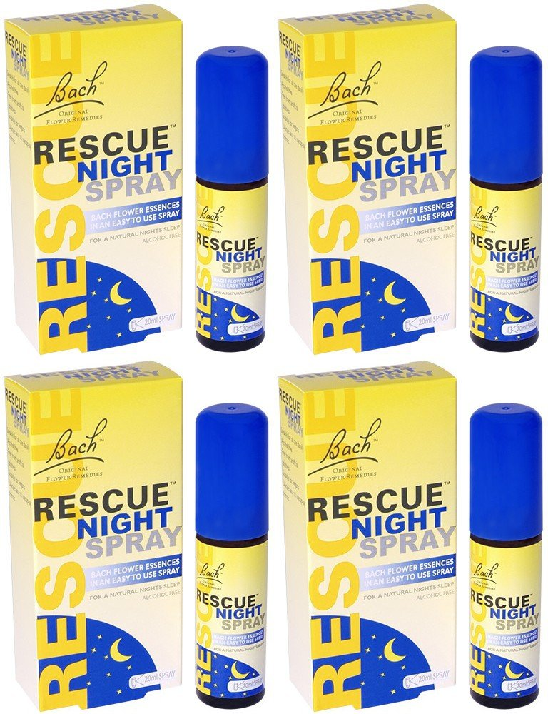 (4 PACK) - Rescue - Night Spray | 20ml | 4 PACK BUNDLE