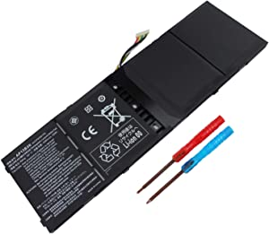 Yongerwy 53Wh AP13B3K Laptop Battery for Acer Aspire M5-583 M5-583P M5-583P-5859 M5-583P-6423 M5-583P-6428 M5-583P-6637 R7-572 ES1-511 ES1-512 V5-473G V7-582p 41CP6/60/78 AP13B8K KT.00403.01