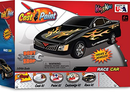 Custom Paint Shops >> Skullduggery Krazy Kars Cast And Paint Body Shop Custom Racer