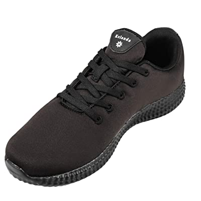 Kelanda Fashion Sneakers for Men Women Casual Walking Shoes Lightweight Classic Comfortable Soft Lace up Tennis Shoes | Shoes