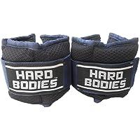 Hard Bodies Aero Ankle & Wrist Weight- 2 Kg X 2 - Black
