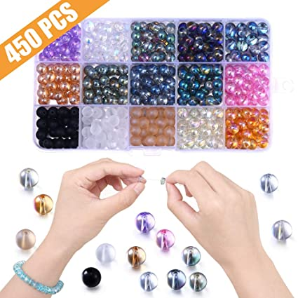Amazon Com Unique Beads For Jewelry Making Lucky Goddness 450pcs